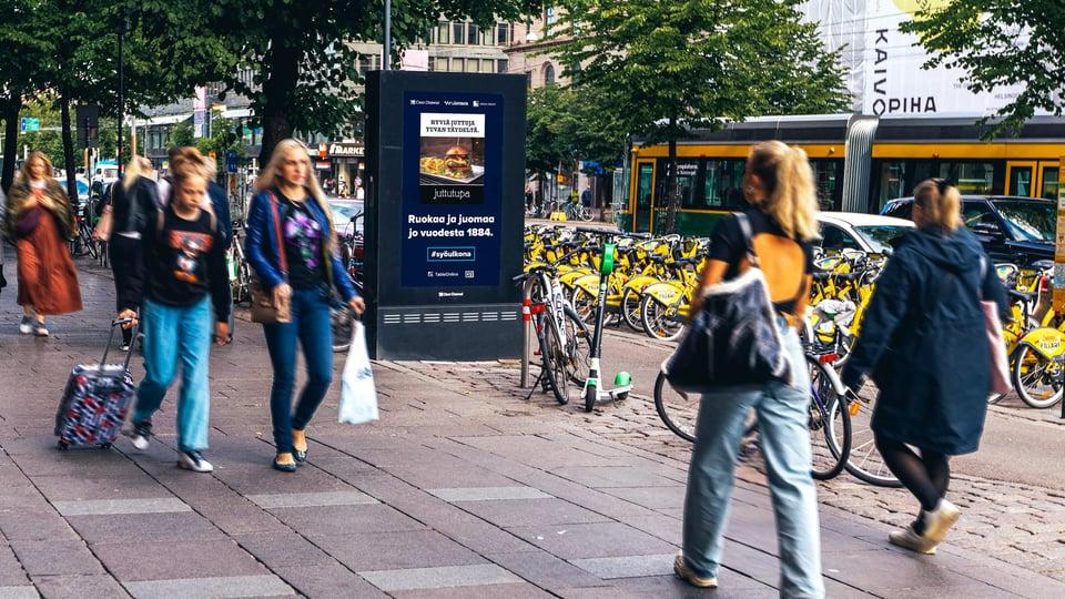 #syöulkona-kampanja valloitti pääkaupunkiseudun katukuvassa kesällä