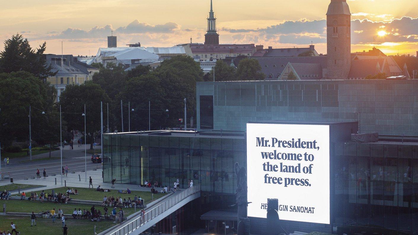 Helsingin Sanomat – Land of free press