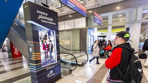 RAY Takatukka -kampanjassa herätettiin mielenkiinto interaktiivisella toteutuksella