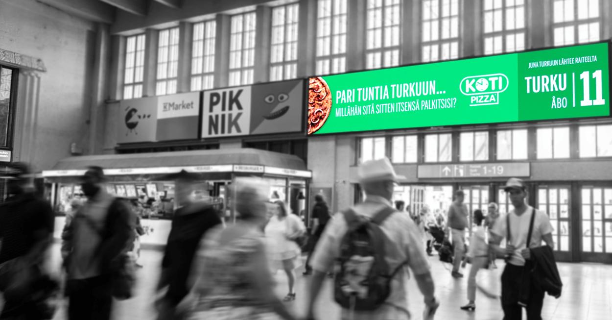 Dynaaminen Kotipizza