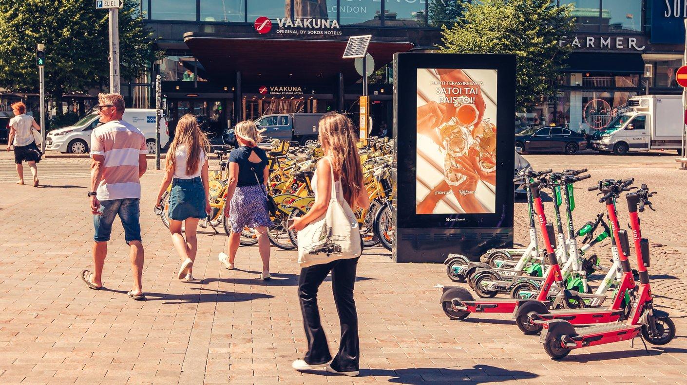 HOK-Elannon dynaaminen kampanja mukautui Suomen arvaamattomaan säähän