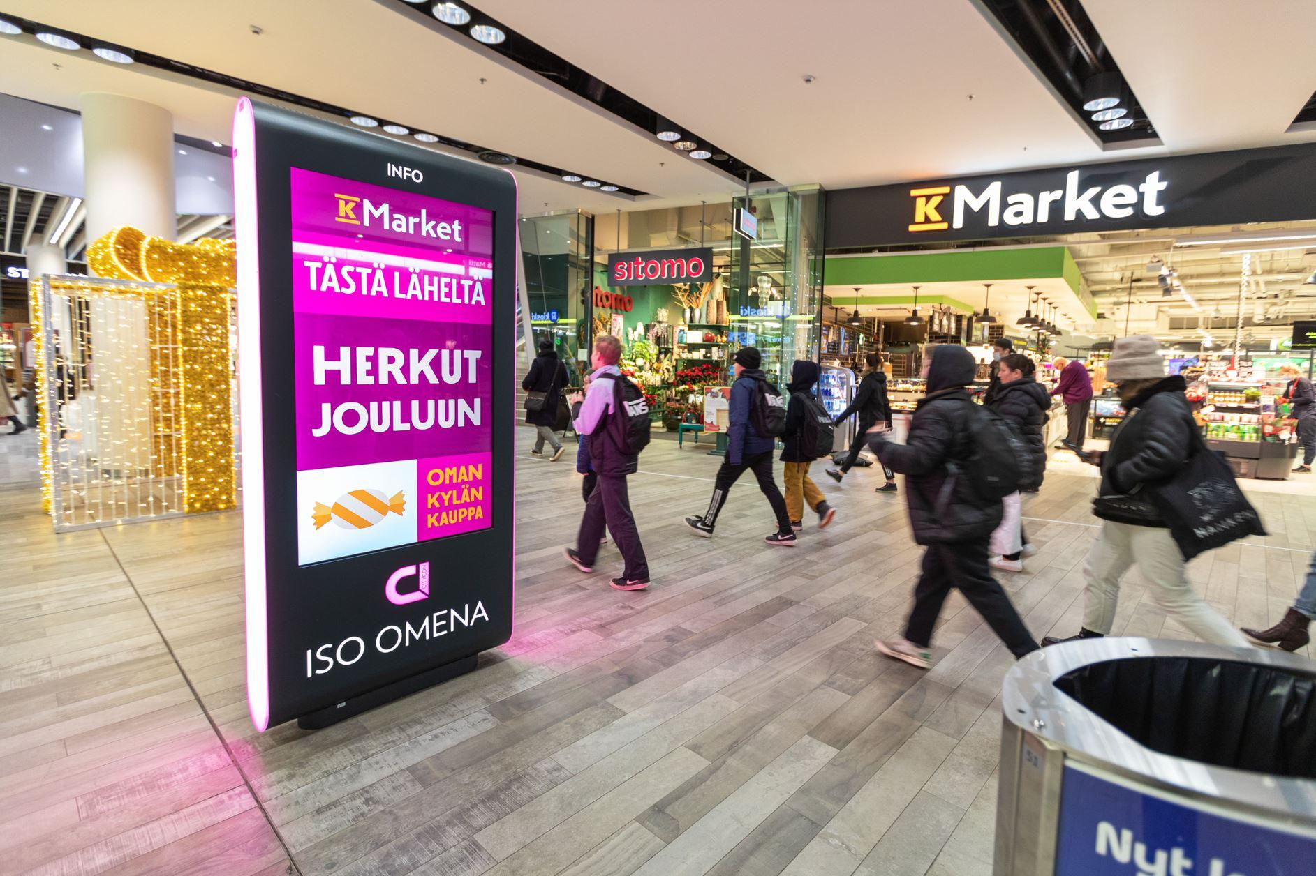Espoo - Iso Omena Promotion Places
