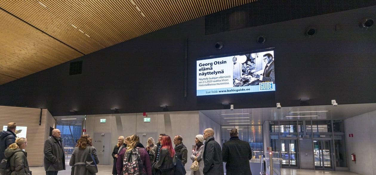 Ports - West Terminal T2 Horizontal LED display
