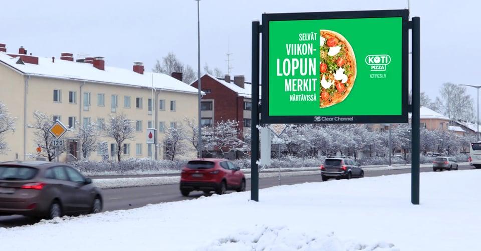 Kotipizza tunnistaa ulkomainonnan roolin yhä tarkemmin