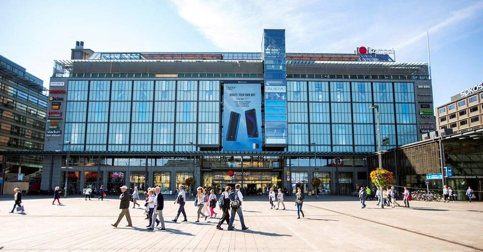 Kamppi Helsinki ja Clear Channel jatkavat pitkäaikaista yhteistyötään