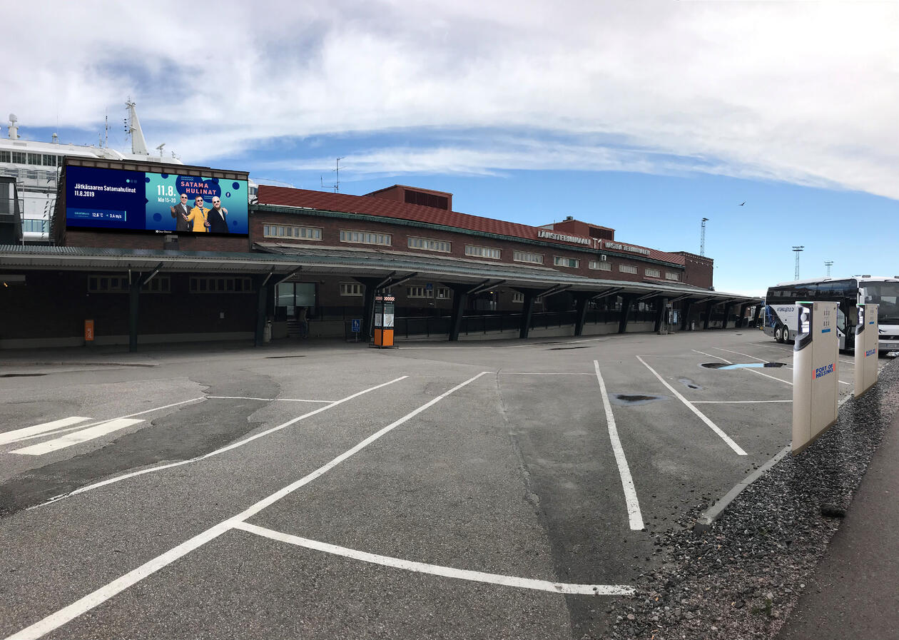 Port of Helsinki - West Terminal T1 Promotion Places