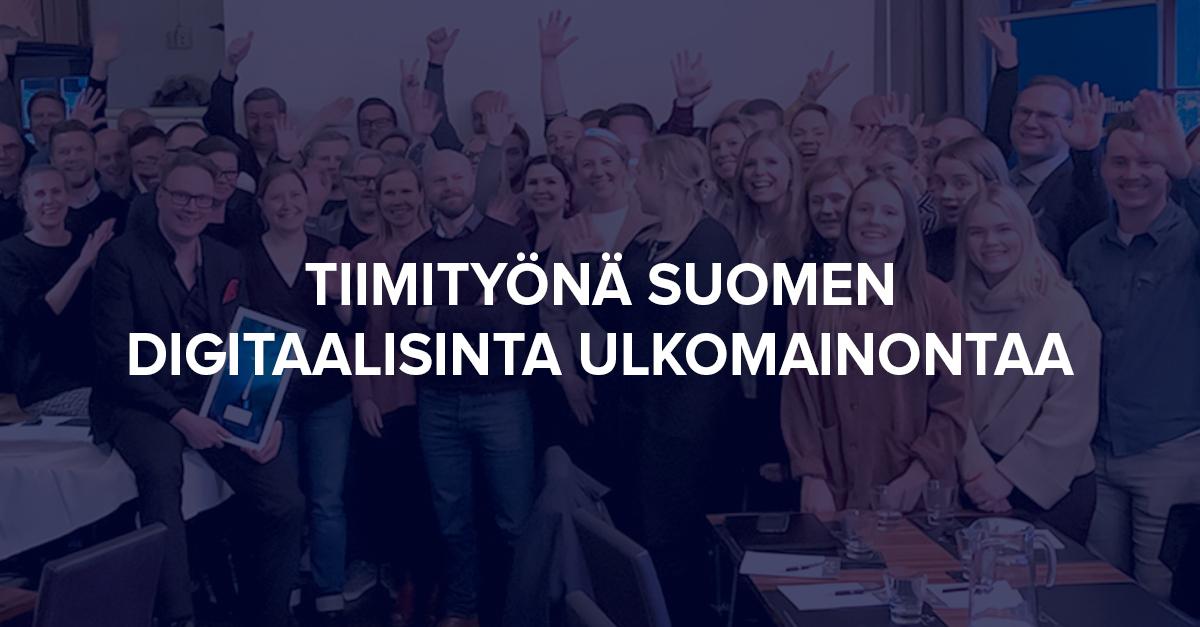 Tiimityönä Suomen digitaalisinta ulkomainontaa