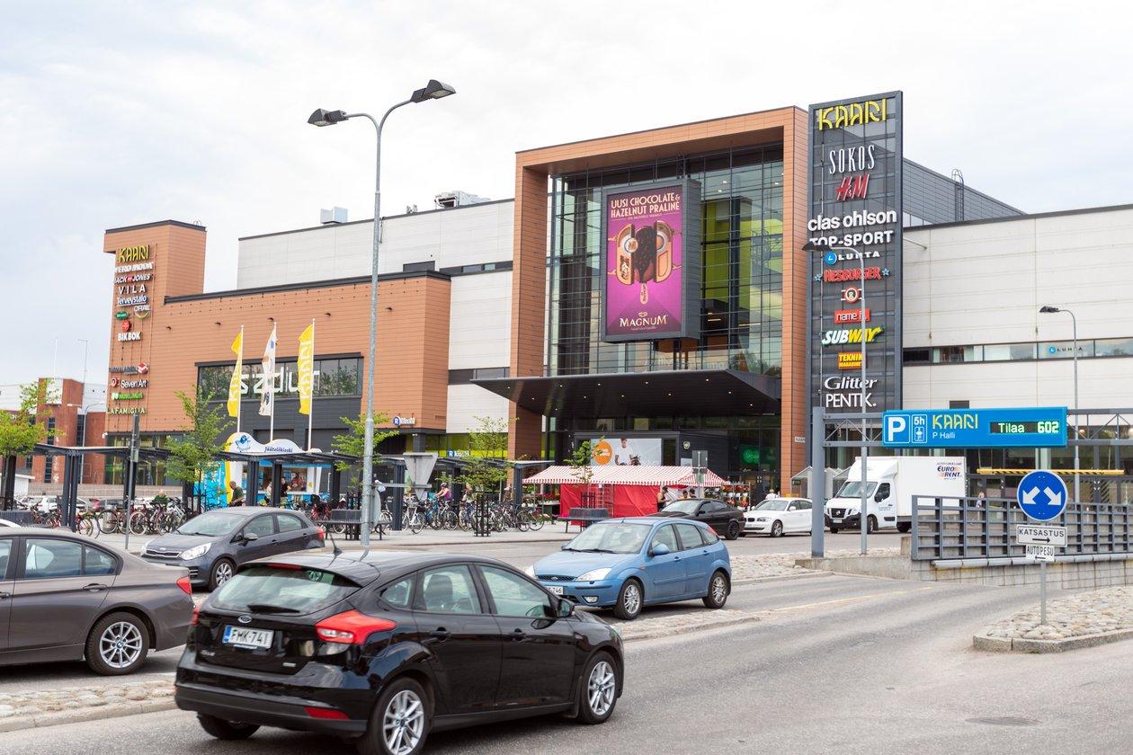 Kaari Shopping Wall (pysty,ulko)