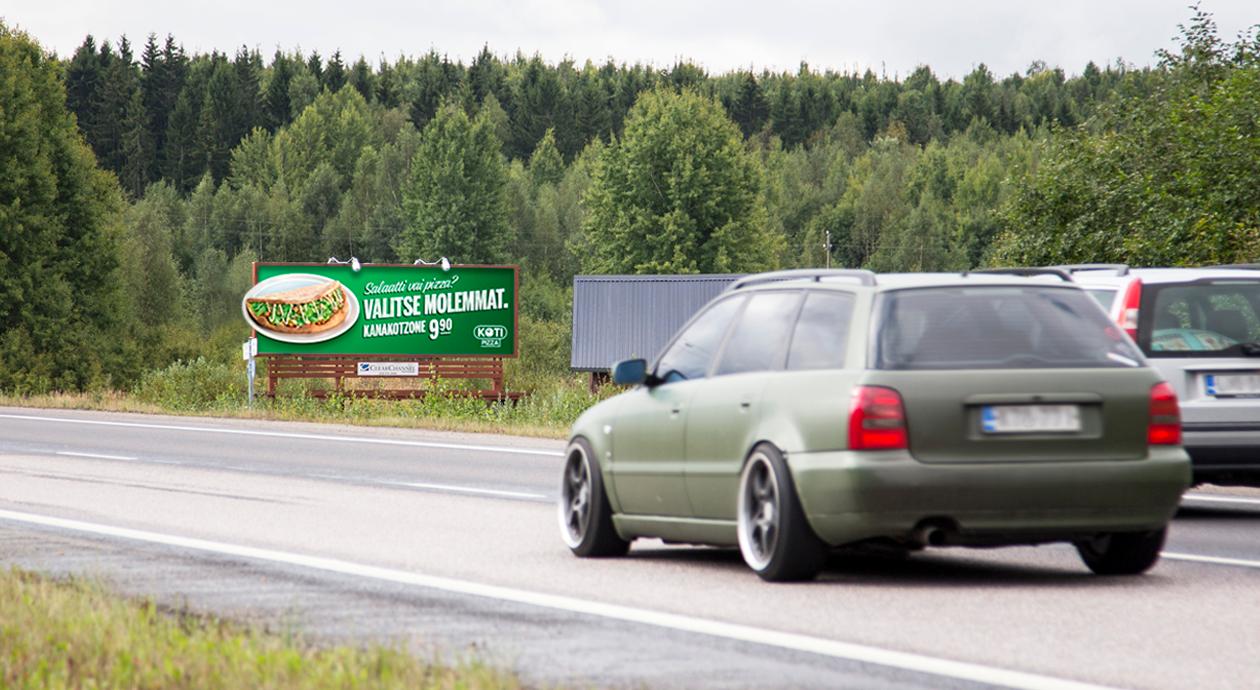 Kotipizzan herkullinen Jättitaulu-kampanja houkutteli Kotzonen ääreen