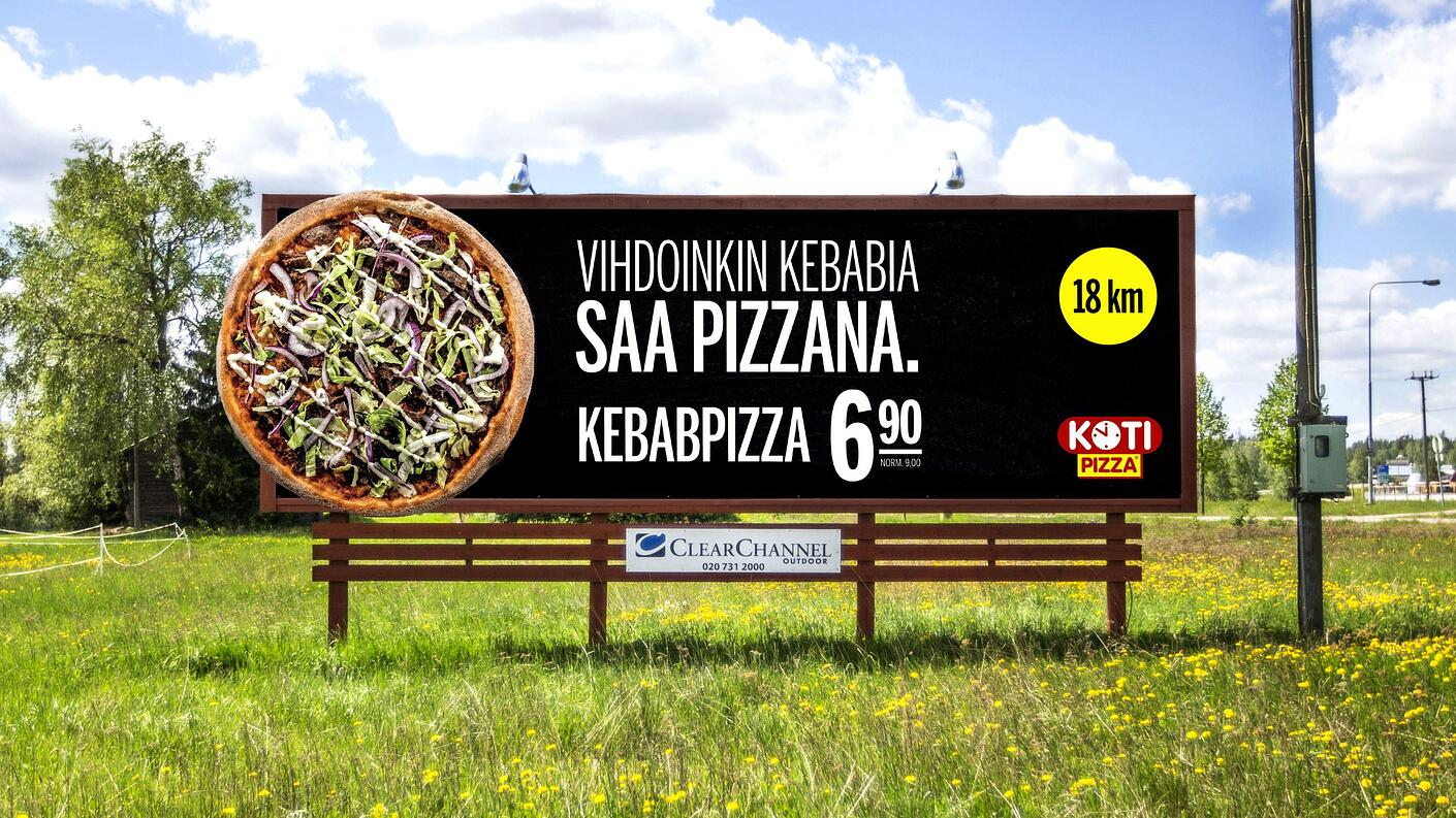 Kotipizzan kampanja ohjasi suoraan ravintolaan