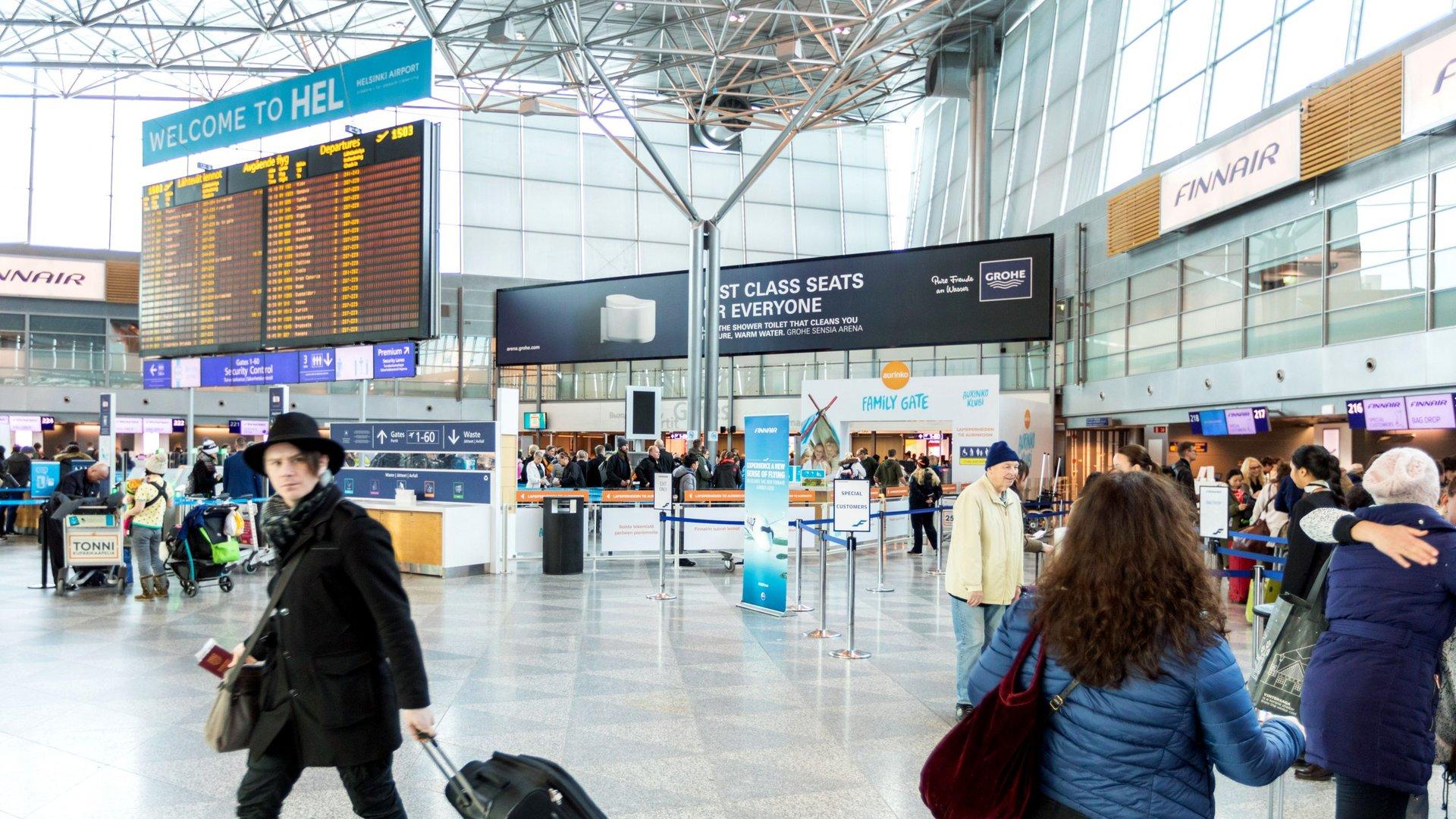 Lentokentän mainosratkaisut