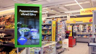 Advertising in supermarkets guides purchase decisions