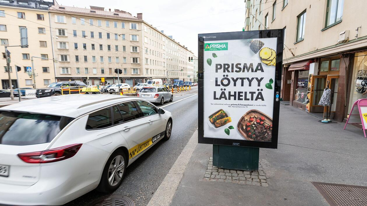 Adshel - Finland S-impact