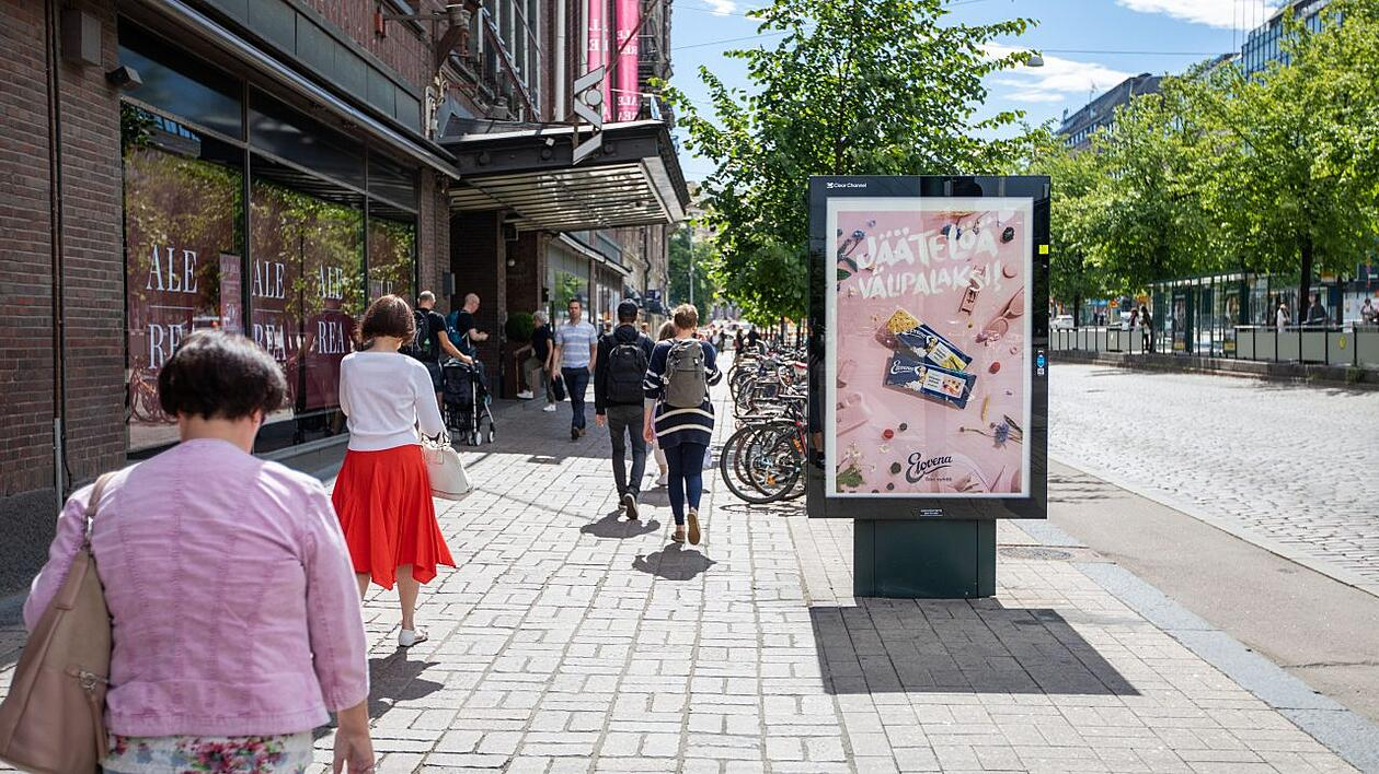 Adshel - Finland FMCG Impact