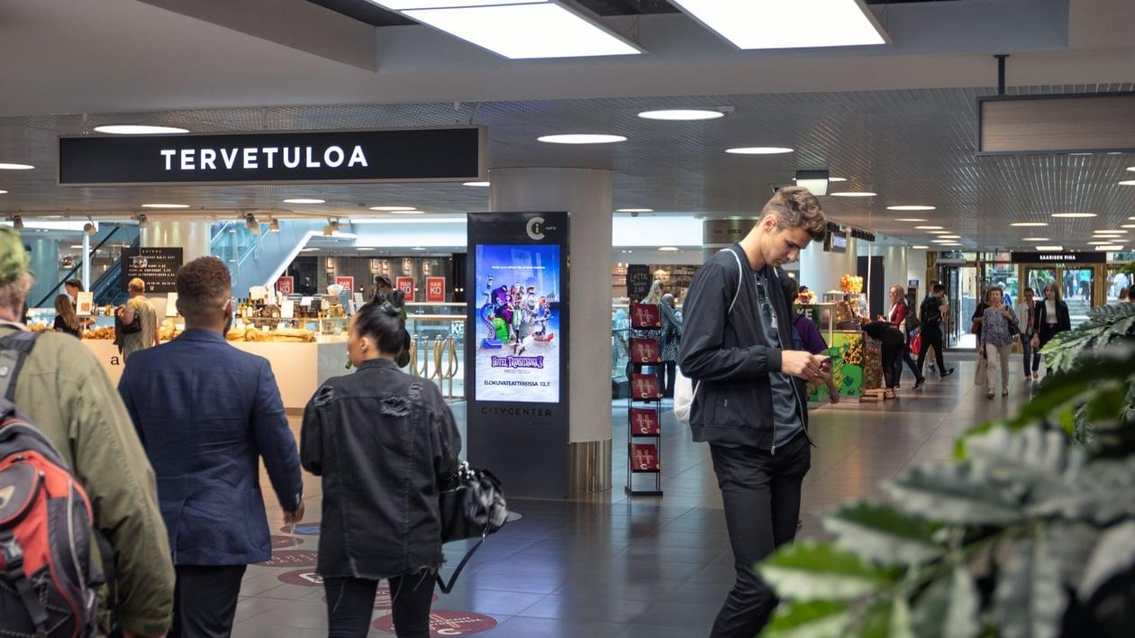 Helsinki - Citycenter Promotion Places