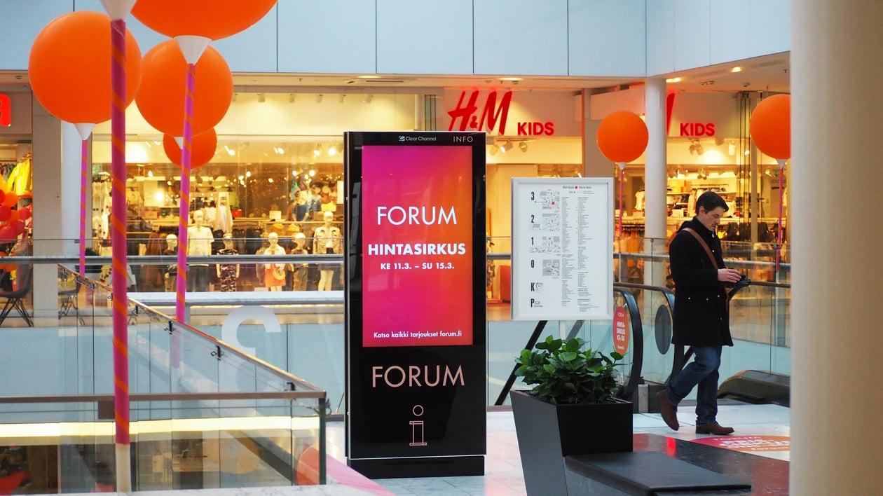 Shopping Digital - Forum Helsinki