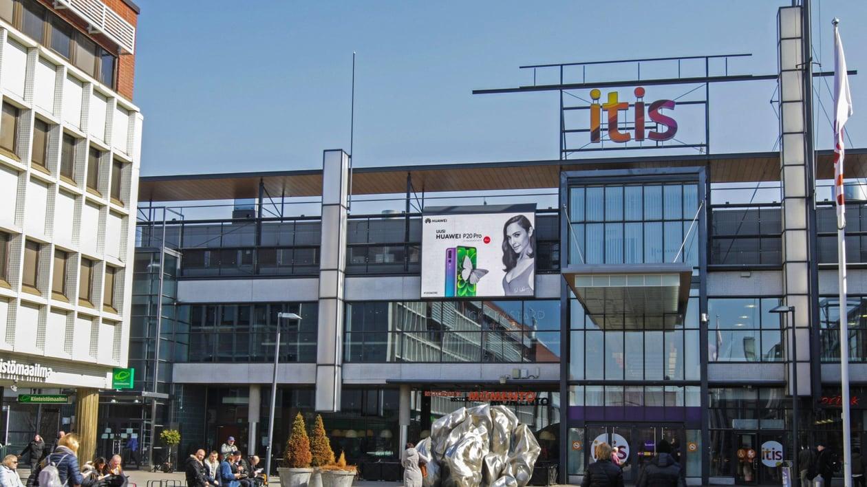 Itis Shopping Wall Tallinnanaukio