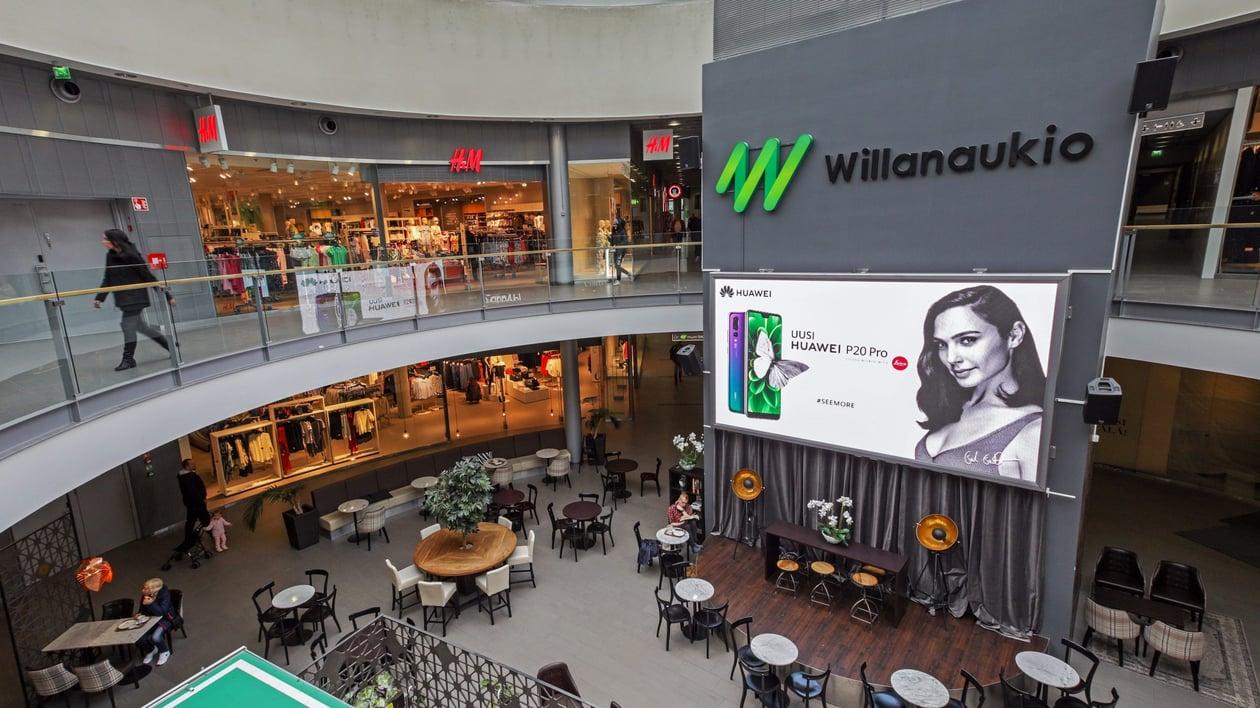 Willa Shopping Wall