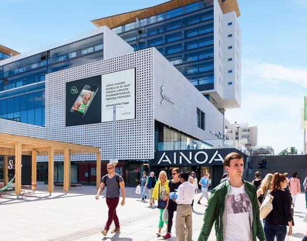 Ainoa Shopping Wall (vaaka)