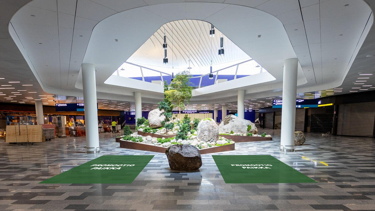 Arrivals Hall Promotion