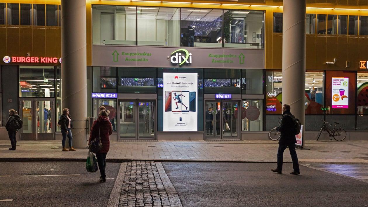 Dixi Shopping Wall