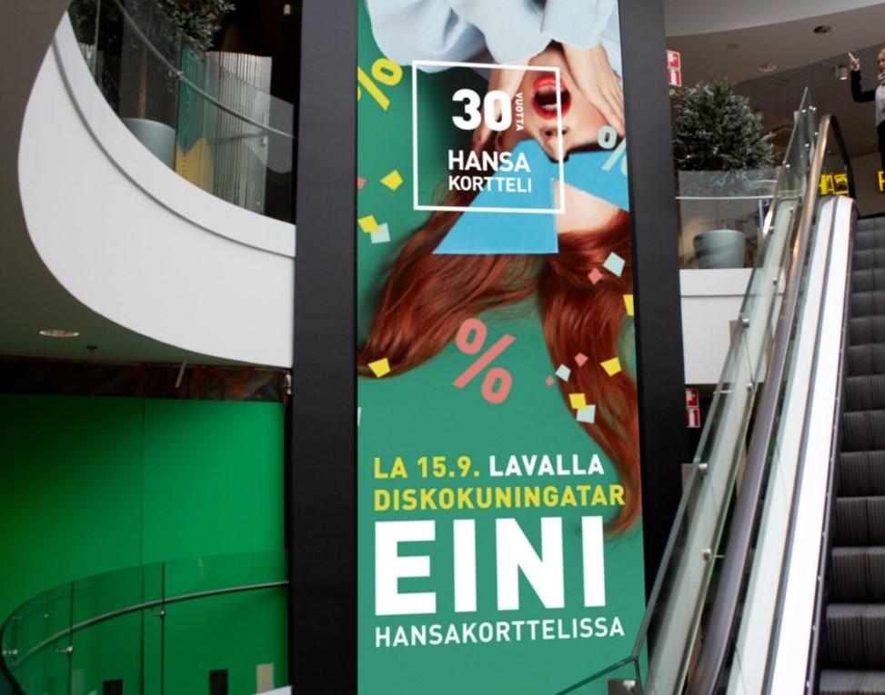 Hansa Shopping Wall