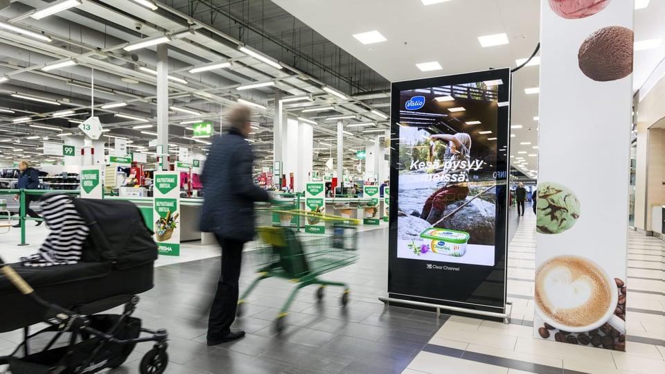 Ostoskeskus Kaaren digitaalinen verkosto laajenee