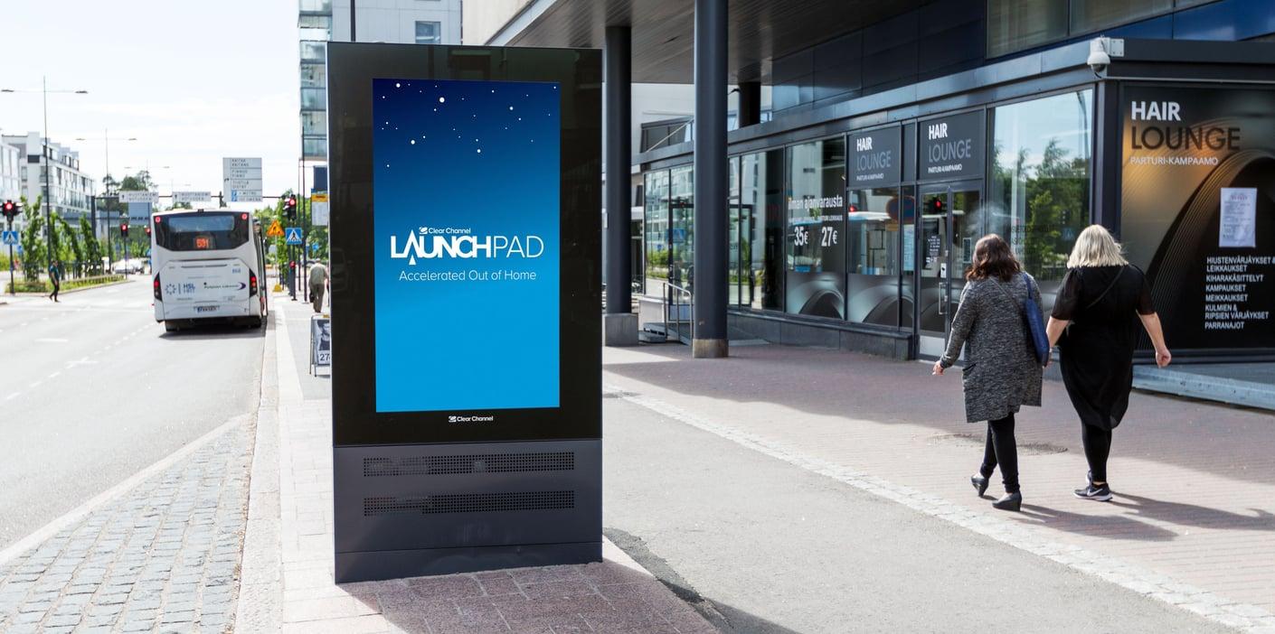 Clear Channelin LaunchPAD mahdollistaa ulkomainonnan ohjelmallisen ostamisen ja yhä tehokkaamman mainoskampanjoiden hallinnan
