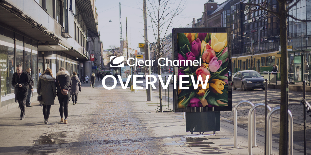 Overview 10.5.2021: The audience reach of outdoor advertising