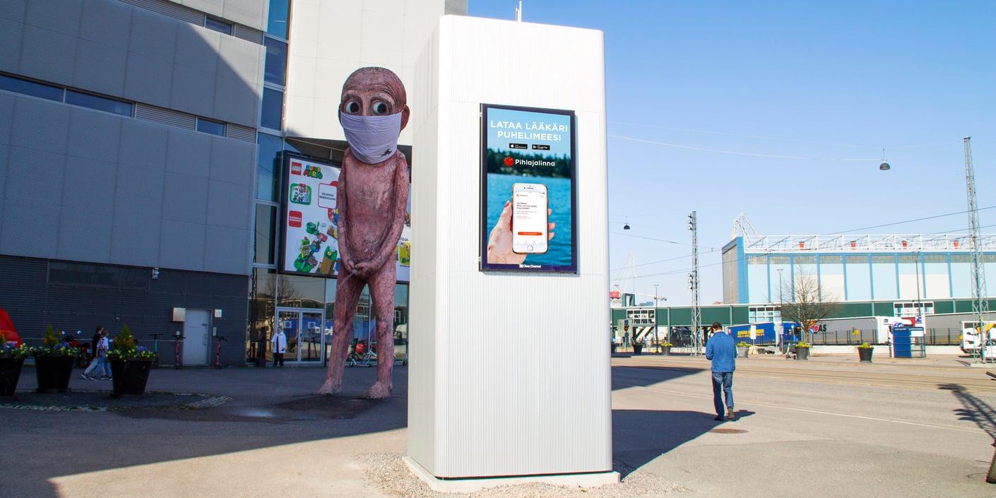 Ensimmäinen älykäs Agora 2.0 -pakettiautomaatti on täydessä käytössä Helsingin Jätkäsaaressa