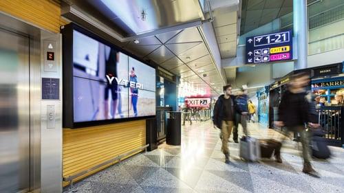 Visit Yyteri aktivoi aisteja lentoasemalla